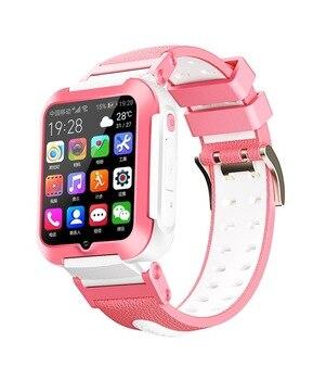 Smart 4G Remote Camera GPS WI-FI Kids Children Students Wristwatch SOS Video Call Whatsapp Monitor Tracker Location Phone Watch 8