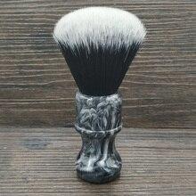 Dscosmetic Discovery 24MM tuxedo syntetyczne węzły do włosów pędzel do golenia z żywica uchwyt