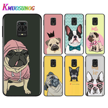 Silicone Black Cover French Bulldog Dog For Xiaomi Redmi Note 9 9S Pro Max 8T 8 7 6 5 Pro 5A 4X 4 Phone Case Bag the little prince with fox silicone phone case for xiaomi redmi note 9 9s max 8t 8 7 6 5 pro 5a 4x 4 soft black cover