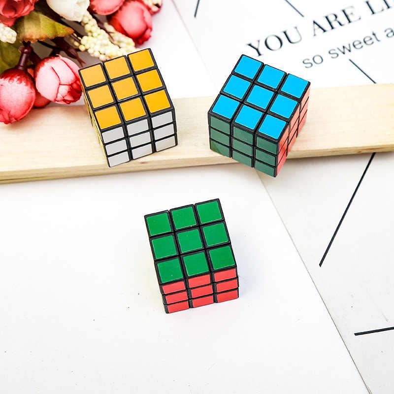1 stücke Dekompression Neue 3x3x3 Zauberwürfel Stickerless Puzzle Cubes Professionelle Geschwindigkeit Cubo Magico Educational Spielzeug für Studenten