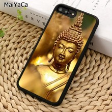 MaiYaCa Gold Buddah Phone Case For iPhone 5 6S 7 8 plus 11 Pro X XR XS Max Samsung Galaxy S6 S7 S8 S9 S10 plus(China)