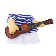 Симпатичные Забавные игрушки гитары Одежда для собак ist костюм для переодевания Pet Одежда гитариста Косплэй выполнять одежда товары для домашних животных