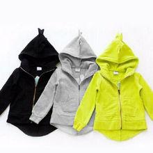 pudcoco, детская одежда, толстовки для мальчиков и девочек, детские толстовки с капюшоном, 3 цвета, динозавр, животные