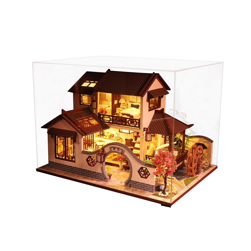 Hb4b660cff1ef43629a8fc9484e4df0abq - Robotime - DIY Models, DIY Miniature Houses, 3d Wooden Puzzle