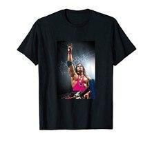 Camiseta gráfico da foto de bret hart