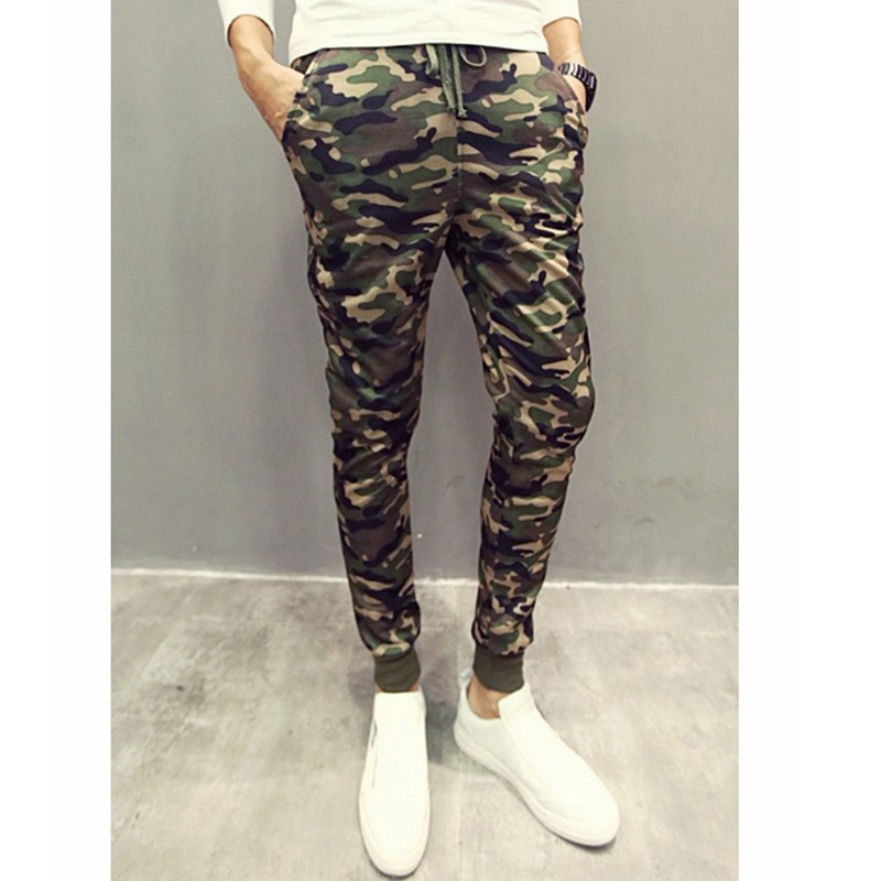 AliExpress 2019 Ouma New Style Camouflage MEN'S Sports Pants Sweatpants Harem Pants Trousers X135