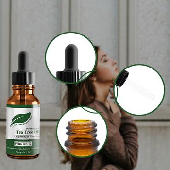 Czysty nawilżający olejki eteryczne organiczny olejek eteryczny z drzewa herbacianego kontrola ropy naftowej znikną blizny potrądzikowe usuwanie torbielowatych zaskórników TSLM1 tanie i dobre opinie Unisex Face Tea Tree Essential Oil 10g ml FH83454