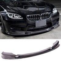 3 D styl z włókna węglowego dokładka przedniego zderzaka pasuje do BMW M6 w Zderzaki od Samochody i motocykle na