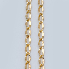 Gold plated Brass Chains 3mm, Oval Link Chain Findings Whole