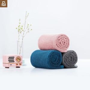 Image 2 - Oryginalny Xiaomi Youpin ręcznik 100% bawełna silne wchłanianie wody Sport produkt do kąpieli miękkie ręczniki trwałe przyjazne dla skóry Facecloth