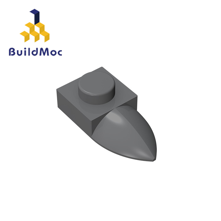 Lego 5 New White Plates Modified 1 x 1 with Horizontal Teeth