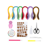 Paper Quilling Paper DIY Graduated Color Quilling Paper with DIY Handmade Gift Origami Craft Paper Paper Quilling Tools Set