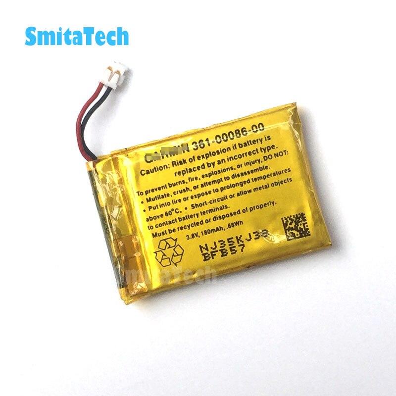 Bateria 180mAh Li-Po para Garmin Forerunner GRM0371754,361-00086-00
