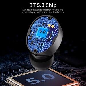 Image 4 - 오리지널 레노버 HT18 TWS 무선 헤드폰 블루투스 5.0 이어폰 1000mAh 배터리 LED 디스플레이 이어 버드 HiFi 스테레오 베이스 헤드셋