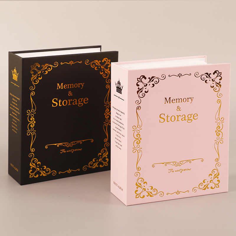 100 cepler 6 inç fotoğraf albümü resim depolama Scrapbooking resim durumda fotoğraf albümü çerçeve çocuklar çocuklar için