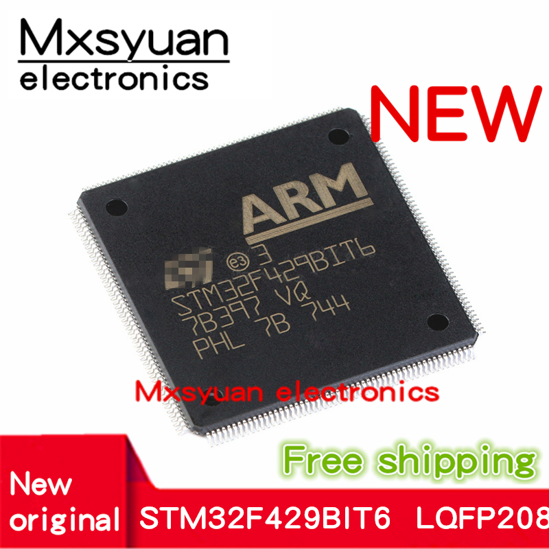 1PCS~10PCS/lot STM32F429BIT6 STM32F429BI STM32F429 QFP-208 New Original