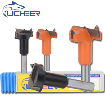 цена на UCHEER 1pc Forstner drill bit Woodworking drilling Opener Hingle Hole Saw Auger Wooden Cutting Tool for Wooden machinery