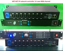 Art-Net Dimmer 4096 Channel 8-port DMX512 two-way IP Network stage light controller ArtNet to DMX  Dimmer MA tiger extension