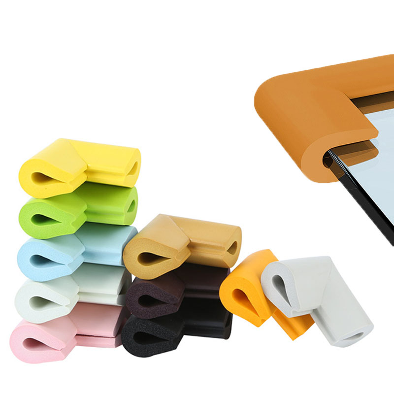 4Pcs/lot U Shape Soft Table Desk Corner Protector Baby Safety Edge Corner Guards For Children Kids Infant Protect Tape Cushion