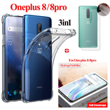 Hydrogel soft Film+Airbag case For oneplus