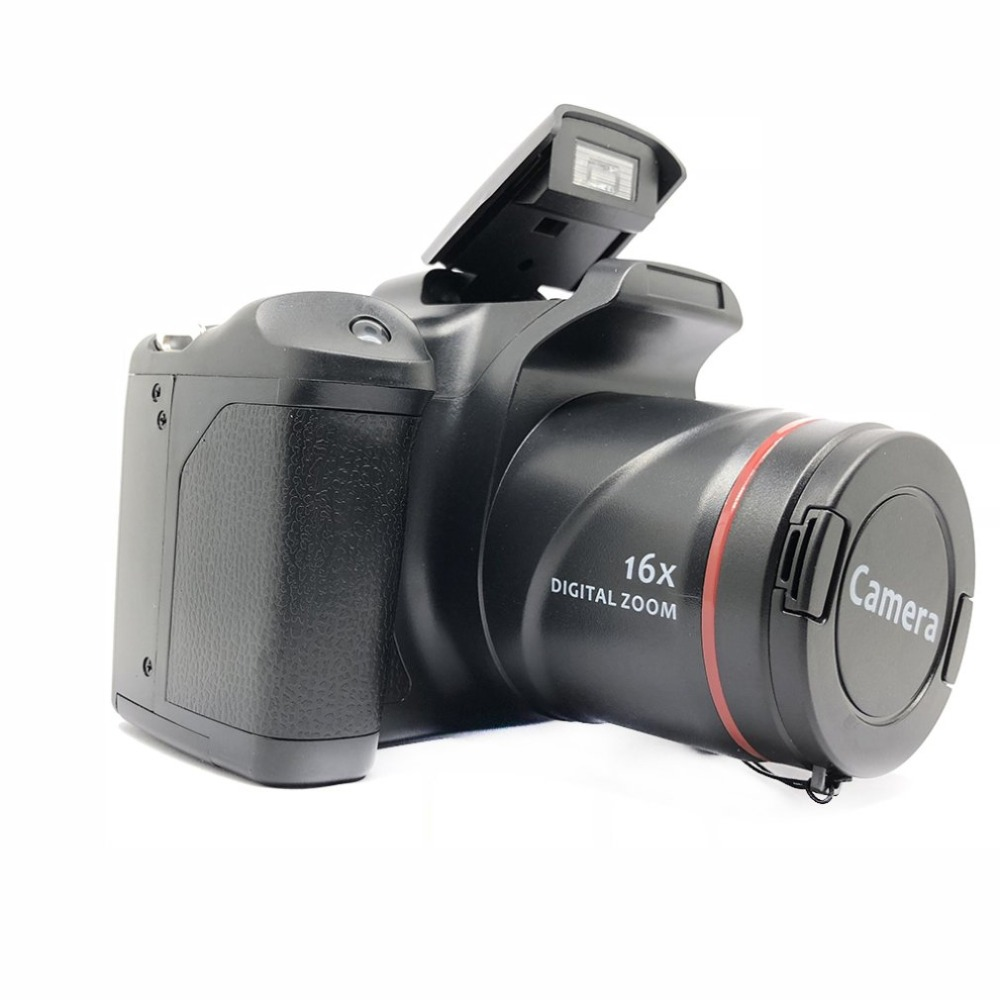 Hb4b800a99df84b1486977c2336a006bdB XJ05 Digital Camera SLR 4X Digital Zoom 2.8 inch Screen 3mp CMOS Max 12MP Resolution HD 720P TV OUT Support PC Video