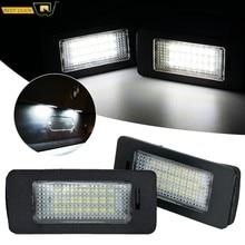 Lumière de plaque d'immatriculation Led pour BMW E39 M5 E70 E71 X5 X6 E60 M5 E90 E92 E93 M3, feu arrière de remplacement Direct