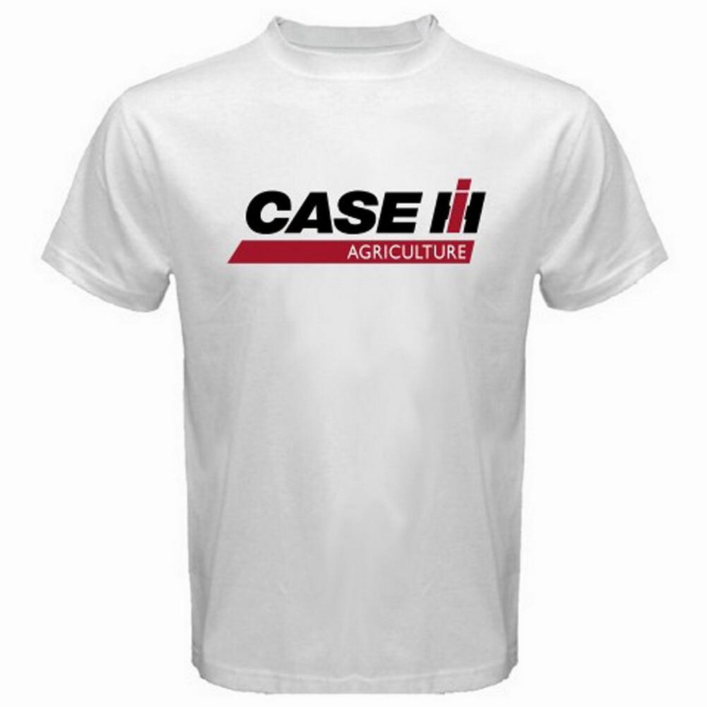 New Massey Ferguson Tractors Company Logo Men/'s White T-Shirt Size S-3XL