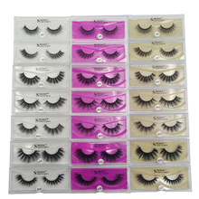 SHIDISHANGPIN  1 pairs false eyelashes natural hair mink lashes dramatic 3D makeup box