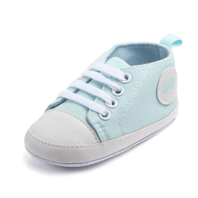 Chaussures bébé Garçon Fille Solide Sneaker Coton Doux Semelle Antidérapante Nouveau-Né Infantile Premiers Marcheurs Bambin décontracté Sport Chaussures de Berceau 44
