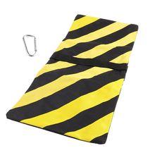 2021 neue Dual Zipper Balance Sandsack Orange Schwarz Streifen Fotografie Sand Tasche für Stativ