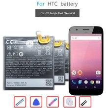 Bateria do telefone móvel para htc google pixel/nexus s1 bateria b2pw4100 2770mah