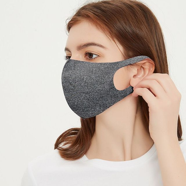 Thin Style Summer Face Shield mask Face Mask Breathable Reusable Anti Pollution Mouth Cover 3