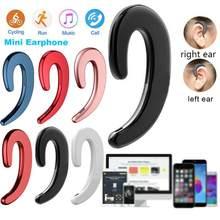 Bluetooth-наушники с костной проводимостью не попадают в ухо; Беспроводные наушники; Подвесные наушники; Спортивные наушники с защитой от пота