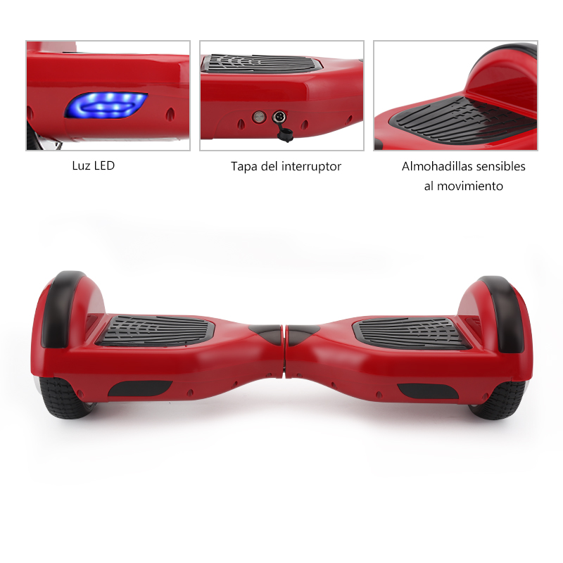 6.5 inch 2 Wheels Hoverboard or self Balancing Electric Skateboard with Bluetooth and Smart steering-wheel 5