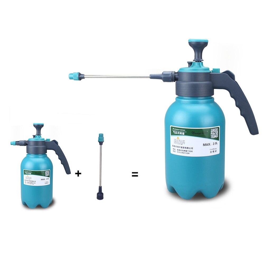 1.5L/2L Hand Pressure  Sprayer Bottle Garden Spray Bottle Plant Irrigation Watering Can Sprayer Adjustable Nozzle He*1-1