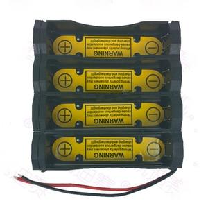 Image 1 - 2S2P DIY power5ed 상자 충전 방전 제어 배터리 홀더 케이스 리튬 이온 7.4V 18650 셀 배터리 충전 슬롯