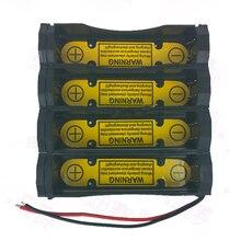 2S2P FAI DA TE scatola di power5ed di Scaricare di Ricarica di Controllo Cassa Del Supporto Della Batteria per Li Ion 7.4V 18650 batteria slot di ricarica Cellulare