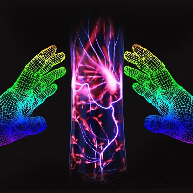 Magic Plasma Ball Light Electrostatic LED 10W Plasma Fantastic Voice-activated High Quality Glass Creative Gifts Night Light