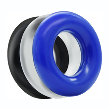 Toys Relax-Assorted-Pack Silicone of Soft 3-Seamless Ring-Bands Donut-Rings Cock Different-Color