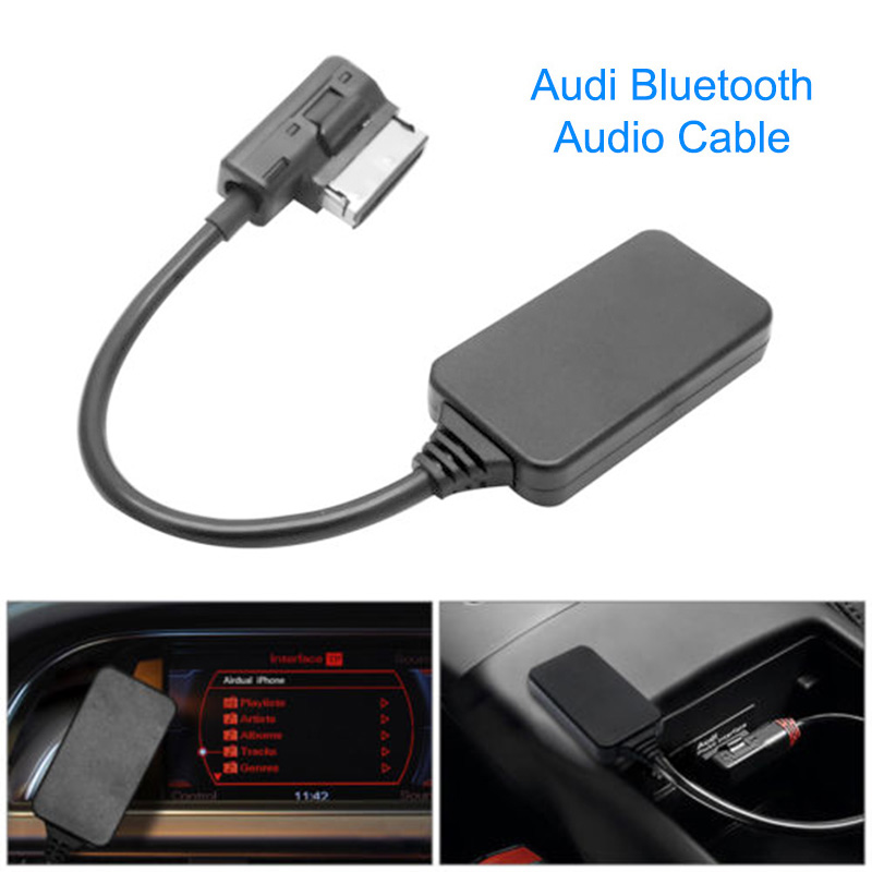 2019New AMI MDI MMI Bluetooth 4.0 Music Interface AUX Audio Cable Adapter For Audi VW  Car Accessories Hot Sale