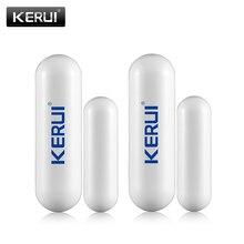 KERUI D026 새로운 433mhz 무선 도어 창 센서 GSM 보안 경보 시스템 G19 * G18 W2 오픈 도어 감지