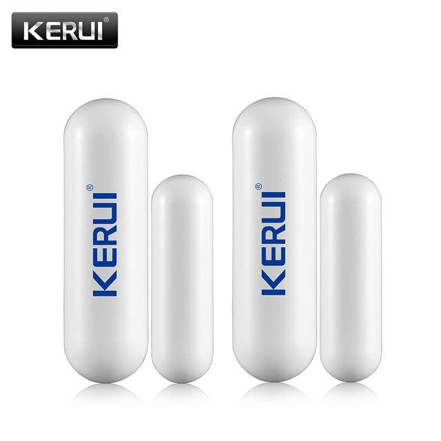 KERUI capteur douverture de porte/fenêtre sans fil D026, 433mhz, détection, pour GSM, G19 x G18 W2, nouveau système dalarme de sécurité