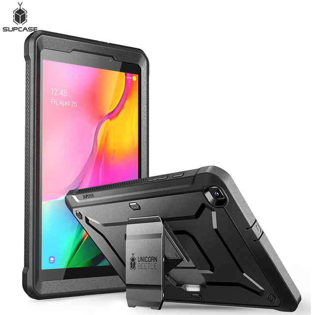 SUPCASE For Samsung Galaxy Tab A 8.0 Case (2019) SM T295/SM T290 UB Pro Full Body Rugged Case with Built in Screen Protector