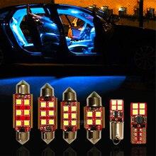 Светодиодный внутренний светильник Canbus без ошибок, купольная карта, лампа для багажника для Audi A6 S6 RS6 C5 C6 C7 4B 4F 4G Quattro Sedan Avant, внутренний компле...