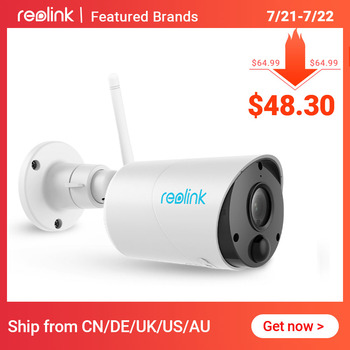Беспроводная камера видеонаблюдения Reolink Argus Eco IP, Full HD 1080p, с питанием от батареи