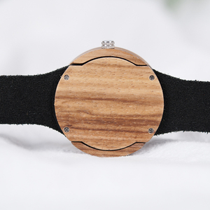 Image 5 - BOBO BIRD Complete Calendar Watch Women Zebra Quartz Wood Wristwatch Ladies Wooden Watches relogio feminino Dropship