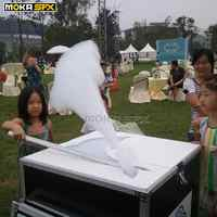 Flight case Packing stage cloud maker machine manual control Foam Bubble Machine for stage wedding show