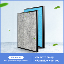 H13 Hepa filter and  filter cotton ABC-FKH15B for Sanyo ABC-HP14/AR15 AC16 17 27 air purifier filter
