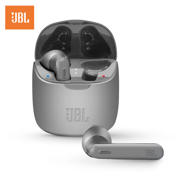 JBL TUNE 225TWS True Wireless Bluetooth Earphones TUNE 225 TWS Noise Reduction Stereo Earbuds Bass Sound Headphones With Mic