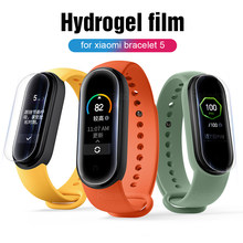 Voor Xiaomi Mi Band 5 Film Hydrogel Screen Protector Xiomi Xaomi Mi Band5 Miband 5 M5 Smart Horloge Accessoires Film Niet glas(China)